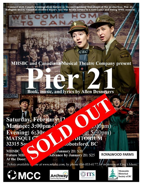 Pier 21 The Musical